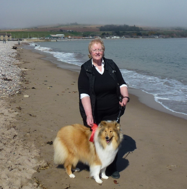 Rose and Marie Stonehaven dog show